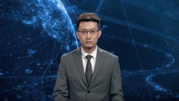 Chinese tv-zender komt met 'realistische' virtuele nieuwslezer