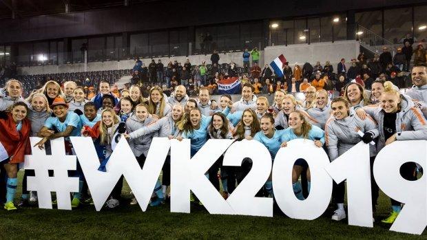De Oranje Leeuwinnen gaan naar het WK