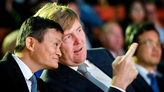 Gesprek Rutte haalt niets uit, Alibaba kiest niet voor Nederland