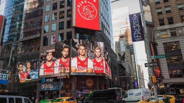 American dream: Ajax opent kantoor in New York
