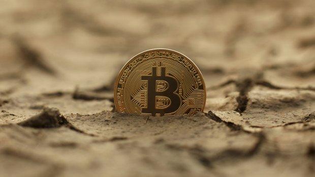 Koers bitcoin maakt rotsmak naar 5400 dollar