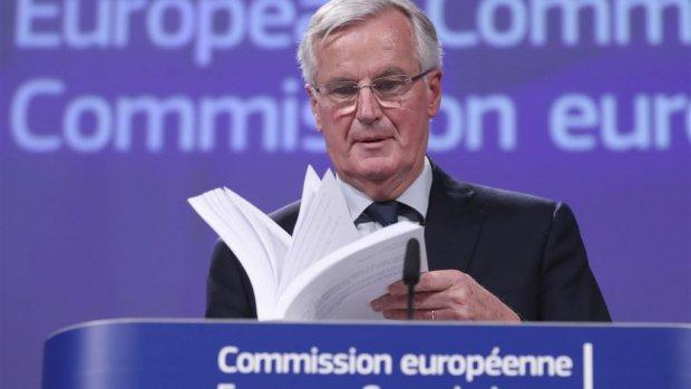 In stilte onderhandelen in 'de tunnel': het brexitsucces van team-Barnier