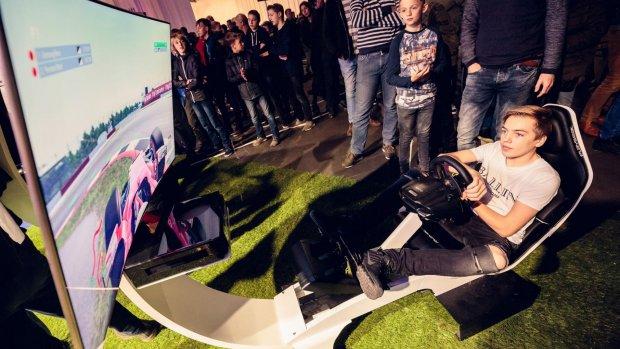 Racen, schieten, eSports: veel gaming op Bright Day