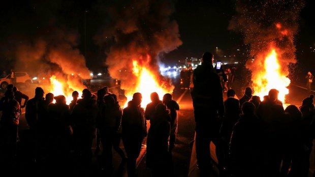 'Franse regering buigt niet voor brandstofprotest'
