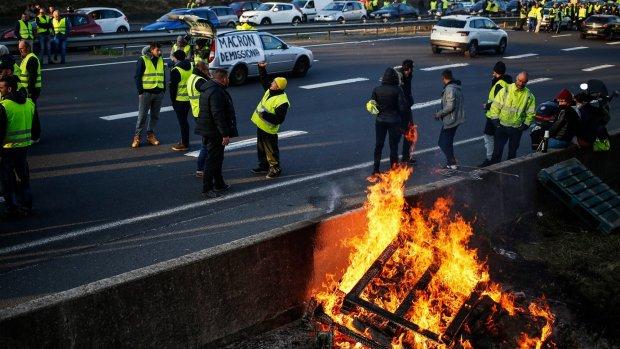 Opnieuw protesten om brandstofprijzen in Frankrijk