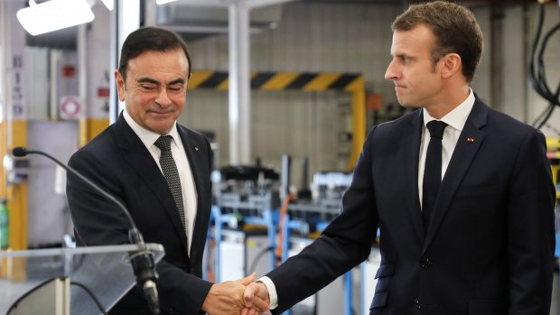 Topman Renault opgepakt in Japan voor miljoenenfraude