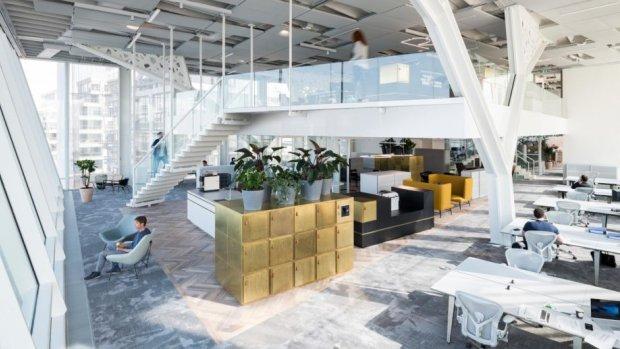 Een van de best ingerichte kantoren ter wereld staat in Amsterdam
