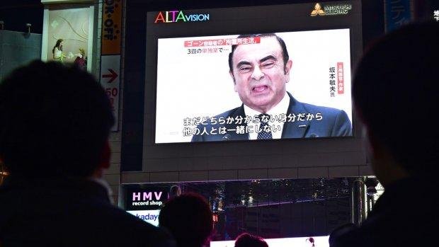 Gevallen topman Ghosn ontslagen bij Nissan