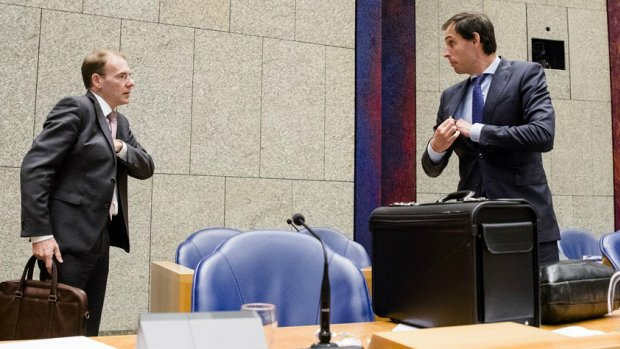 Ministerie van Financiën rommelt met bonnetjes Hoekstra en Snel