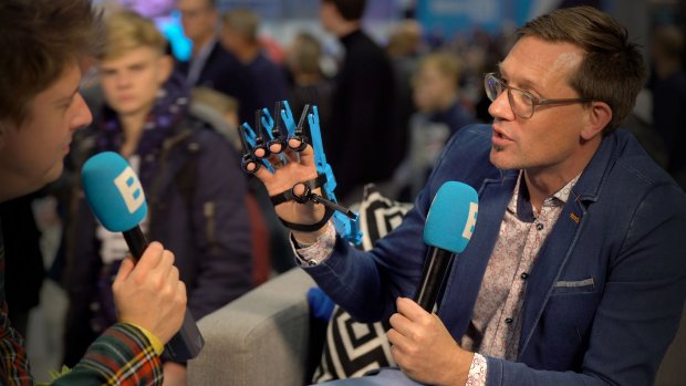 Nederlandse VR-handschoen is 'muis van de toekomst'