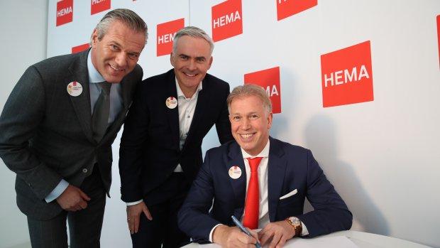 Franchisers vergroten hun macht bij Hema