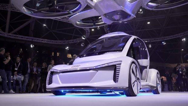 Dit is de drone-auto waar Audi en Airbus aan werken