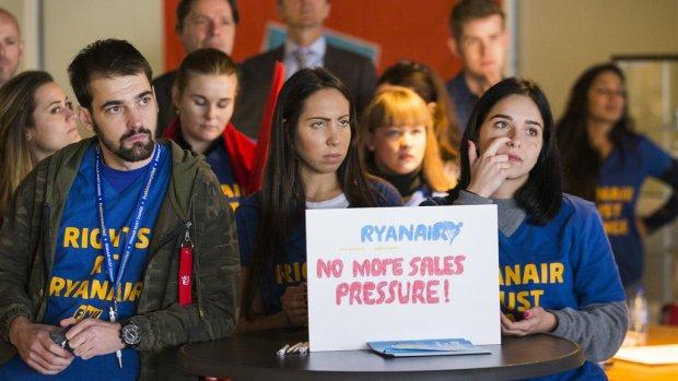 Ryanair-personeel dat ontslagen werd in proeftijd naar de rechter
