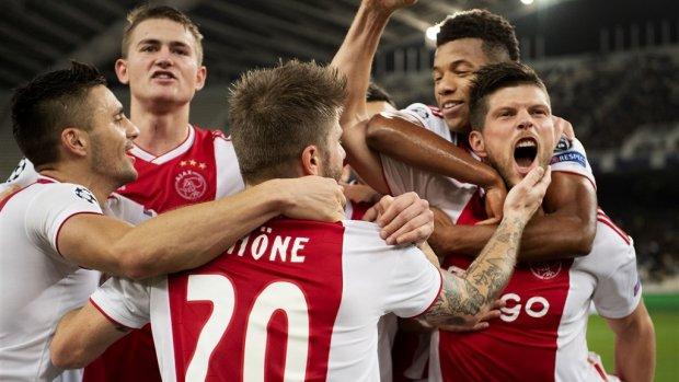 Ajax verzekerd van ruim 64 miljoen door Champions League