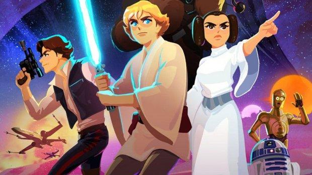 Disney maakt korte tekenfilms van Star Wars-films
