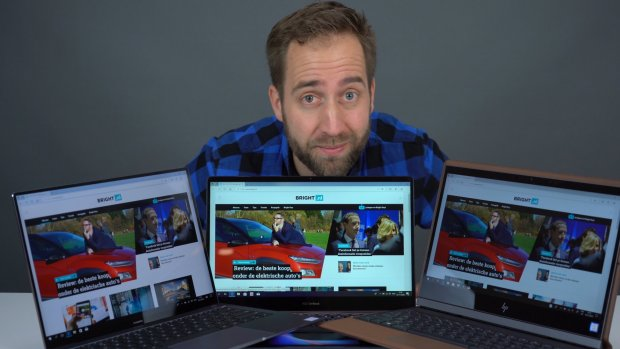 Deze laptops hebben alle drie iets unieks