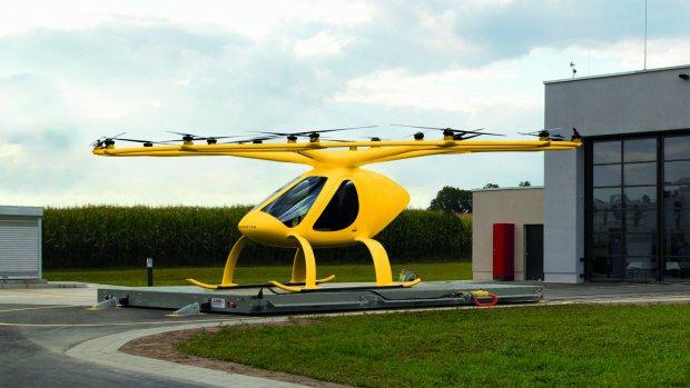 Duitse artsen testen elektrische heli's als auto-vervangers