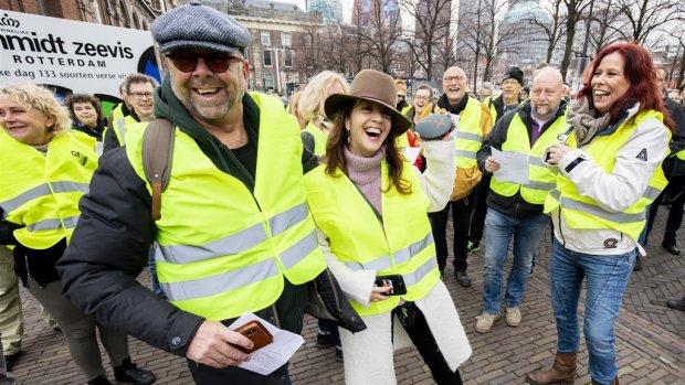 'Gele hesjes' in Nederland: Binnenhof afgesloten