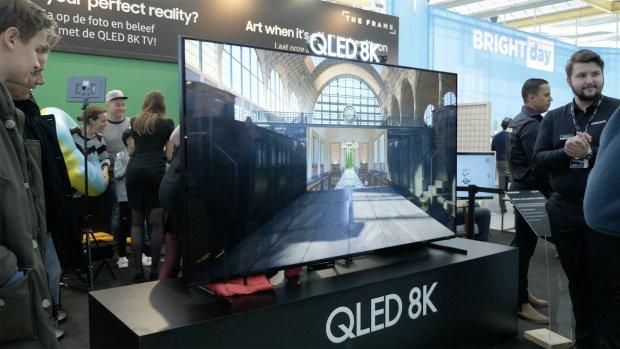 Eerste 8K-tv van Samsung op Bright Day: 'Indrukwekkend'
