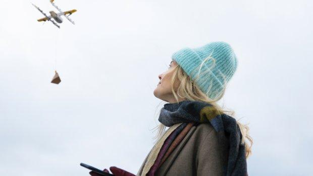 'Google-drones' gaan pakketjes bezorgen in Finland