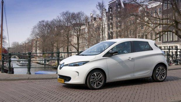 Renault gaat elektrische deelauto's aanbieden in Amsterdam