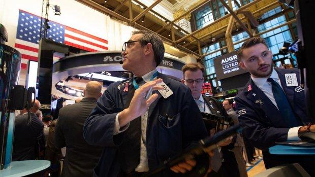 Rode koersborden op Wall Street: nieuw dieptepunt voor 2018