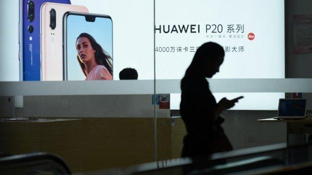 Topvrouw Huawei opgepakt in Canada