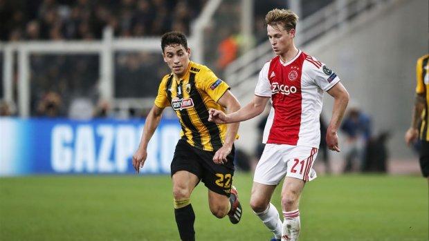 RKC en Willem II rekenen zich rijk na bod 75 miljoen op Ajacied De Jong