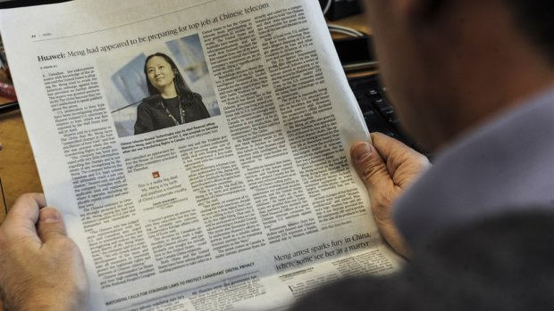 Topvrouw Huawei blijft hele weekend in Canadese cel