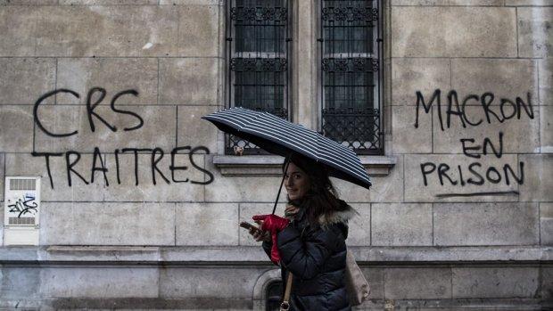 Protesten 'gele hesjes': Macron spreekt morgen natie toe