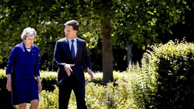 Britse premier May naar Rutte voor werkontbijt over brexit