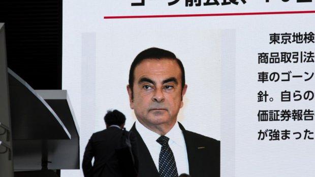 Nissan-topman Ghosn aangeklaagd in Japan om valse verklaringen