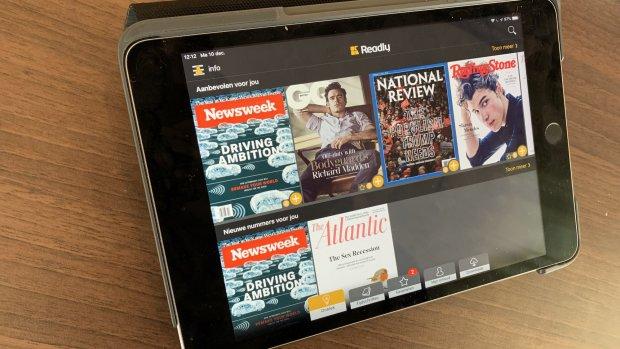 Getest: 'Spotify' voor tijdschriften Readly