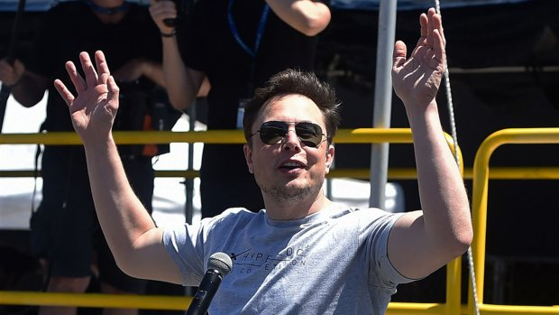 Lacherige Musk over beurswaakhond VS: 'Ik respecteer de SEC niet'