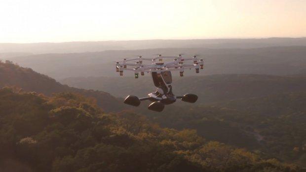 In deze drone zit je in je eentje voor een pleziervlucht