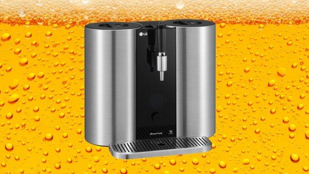 LG komt met Nespresso-achtig bierbrouw-apparaat
