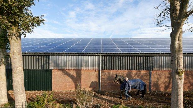 Boeren blij, Essent blij: energiebedrijf vervangt asbestdaken door zonnepanelen