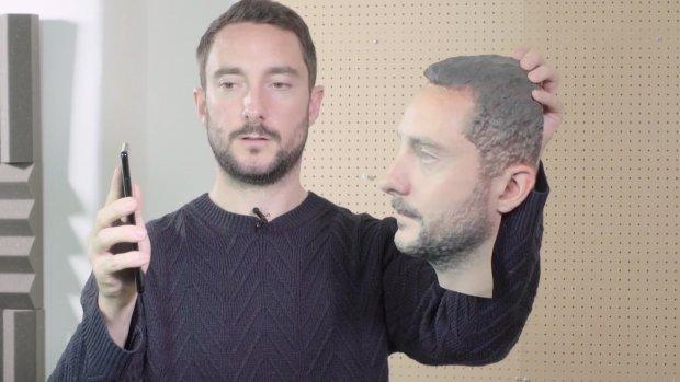 Android-telefoons te ontgrendelen met 3D-geprint hoofd