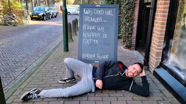 Barbier Rogier heeft de slechtste slogan: 'Het was een inkoppertje'