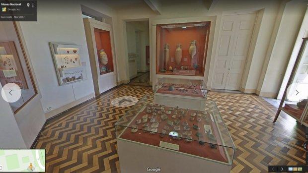 Google opent virtuele versie afgebrand museum Brazilië