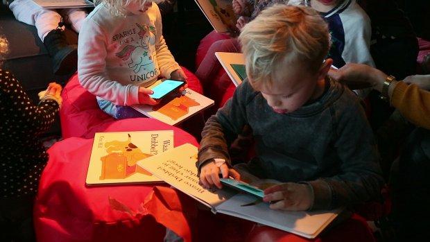 Dove kinderen voorlezen met nieuwe app