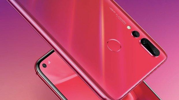 Huawei lanceert smartphone met camera in schermgat