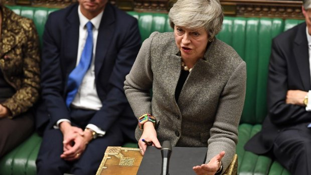 May: Brits parlement stemt eind januari over brexitdeal