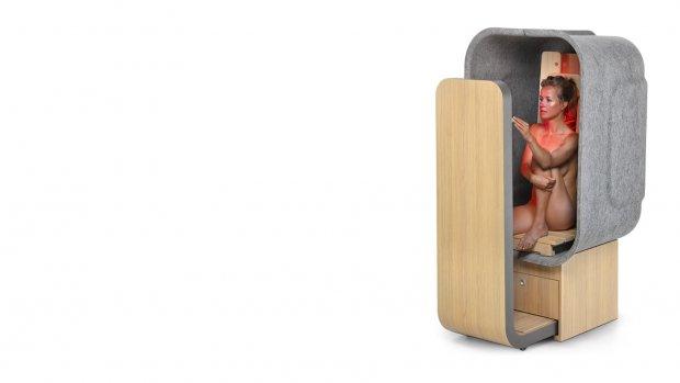 Sauna van 1 vierkante meter