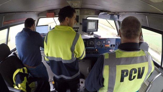 Prorail test zelfrijdende trein om spoor nog voller te krijgen