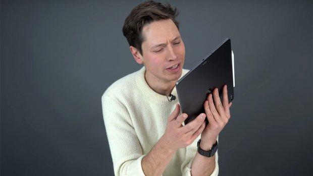 Apple: 'Licht gebogen iPad Pro's zijn normaal'