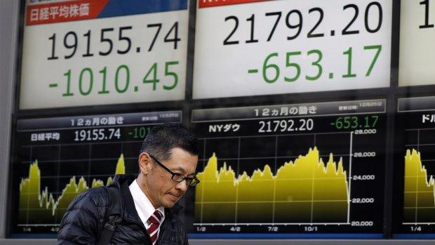 Aziatische beleggers ook in paniek na nieuwe aanval Trump op Fed