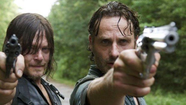 'The Walking Dead meest getorrente serie van 2018'