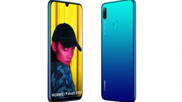 P Smart 2019 van Huawei heeft parelvormige notch