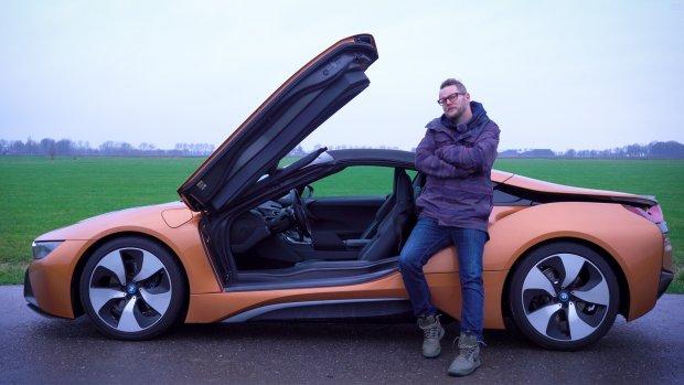Deze BMW i8 Roadster lijkt afkomstig uit de toekomst